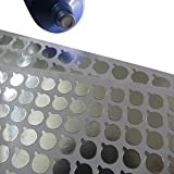 6 Sheets(360Pcs) 15mm Aluminum Foil Film Sticker Seal for Bottles Stopper Sealing Strip for...