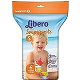 Libero Swimpants Pannolino Bimbo, Taglia S, 6 Pezzi - 10 ml