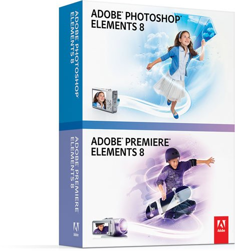 Adobe Photoshop Elements 8 & Adobe Premiere Elements 8 WIN