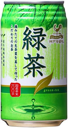 富永貿易 神戸居留地 緑茶 340g×4本入 [0137]