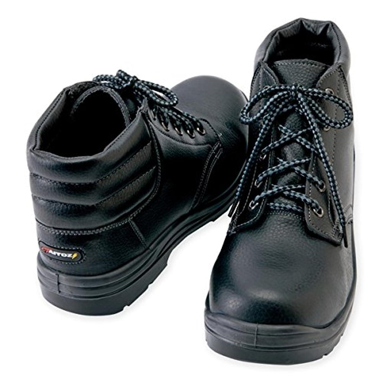 代理人抑圧者知り合いになるアイトス(AITOZ)安全靴 ウレタン ミドル靴ひも 樹脂先芯 JSAA合格品(A種) az-59813