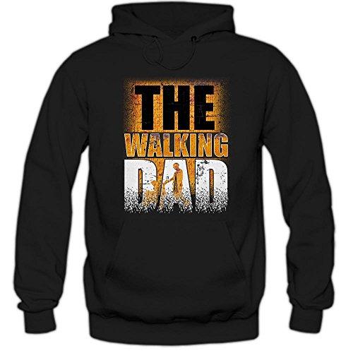 Shirt Happenz The Walking Dad #3 Sudadera con Capucha | Hombre |...