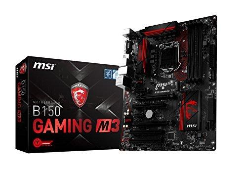 MSI Gaming Intel Skylake B150 LGA 1151 DDR4 USB 3.1 ATX placa base (B150 Gaming M3)
