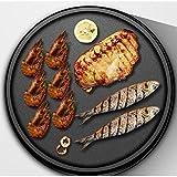 Kaikai Cacerola eléctrica para Hornear Antiadherente Electric crepé Fabricante Pizza panqueque Hornear Pan Plancha China Resorte Roll Pastel friendo Filete, 1 (Color : 1)