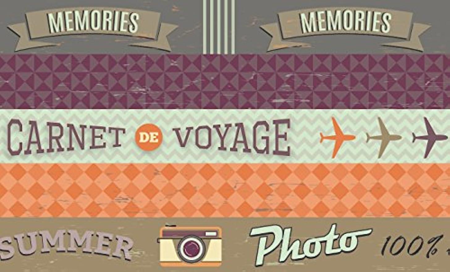 Artemio Set of 5?Sweet Memories Masking Tape, Paper, Multicoloured, 5.5?x 5.5?x 12.5?cm