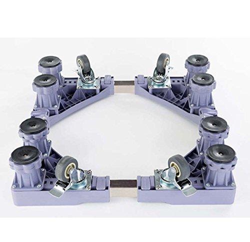 DSHBB Wasmachine Basis, Automatische Verhooging Universele Caster Stand, Wasmachine Basisplaat Voor Wasmachine/Koelkast/Droger/Kabinet (Kleur : Grijs)