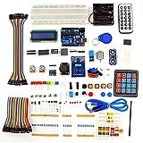 Timagebreze Kit de Inicio RFID Compatible con para IDE, Servo, Palanca de Mando PS2, MóDulo RFID RC522, con CóDigo C, Kit de Inicio de Bricolaje