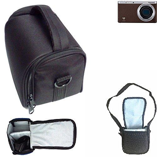 Para Samsung NX Mini: Bolso De Hombro / Bolsa De Transporte Cámara Funda Protectora De Viaje Estuche Para Accesorios Protección Contra La Lluvia, Antichoque Negro Dimensiones: 13cm (5.1