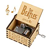 ✅【MELODY】Let It Be, a famous song by the Beatles, you can listen to it before you place an order. Keep cranking the handle and enjoy the beautiful music. ✅【WOODEN BOX】Each music box is lightweight and portable, can be placed wherever you want. Unique...