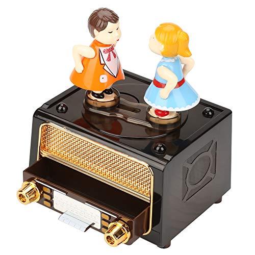 Mini Caja de música Vintage Personalizada de Game of Thrones, Caja de música de Madera, niños