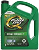 Quaker State Advanced Durability Conventional 10W-30 Motor Oil...