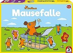 Schmidt Spiele 40505 Maus, Mausefalle, Kinderspiel, bunt