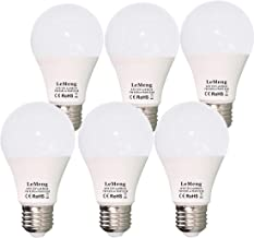 12V LED Bulb E26 7W 630Lm 12 Volt Low Voltage Lights AC/DC 11-16V E27 A19 Edison Lamp(3000K Warm White)40-60 Watt Bulbs Equivalent-12volt Battery Power System Interior Off Grid Solar Lighting- 6 Pack