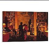 ZFLSGWZ Carteles De Abba, Carteles De Arte De Pared E Impresiones, Cuadros De Pintura Impresos En Lienzo para Decoración del Hogar, 50X70 Cm, Sin Marco