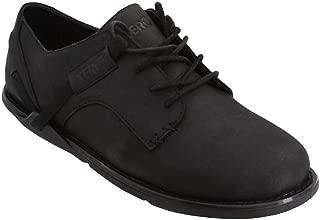 Xero Shoes Alston - Men's Minimalist Leather Dress Shoe - Zero Drop Wide Toe Box Barefoot-Style