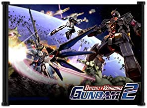 Dynasty Warriors Gundam 2 Game Fabric Wall Scroll Poster (21x16) Inches