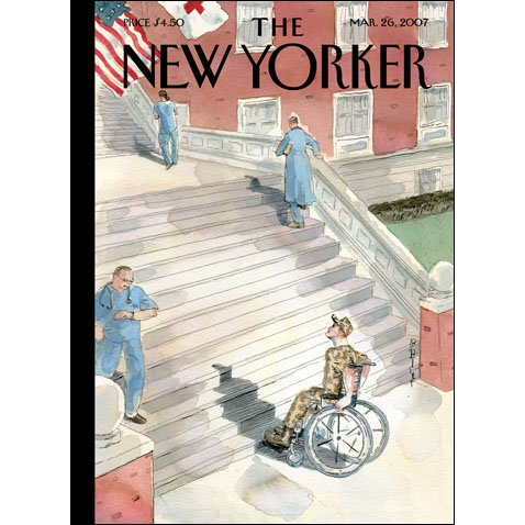 The New Yorker (Mar. 26, 2007) cover art