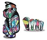 Best Cart Bags - Taboo Fashions Monaco Lightweight Carry/Cart Bag Bundle Review