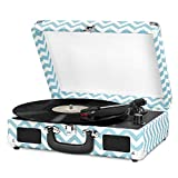 Innovative Technology Turntable,Turquoise Chevron (ITVS-550P1)