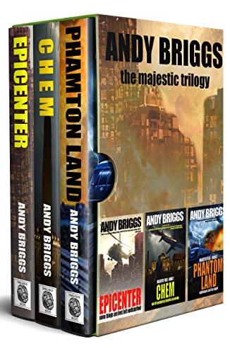 MAJESTIC FILES BOXSET: Books 1-3: Epicenter - Chem - Phantom Land (The Majestic Files) (English Edition)