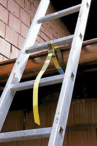 Kerbl 3740 Leitergurt Sicherheitsgurt Leitersicherung Leitersicherheitsgurt Paar