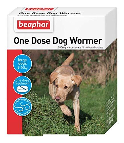 Beaphar Desparasitante de una dosis para perros grandes ⭐