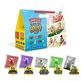 Zimpli Kids - Pack Mega Baff para Jugar la Hora del baño, Incluye 4 x Gelli Baff, 2 x Slime Baff & 6 x Crackle Baff, Biodegradable, Adecuado para niños a Partir de 3 años - 1000g