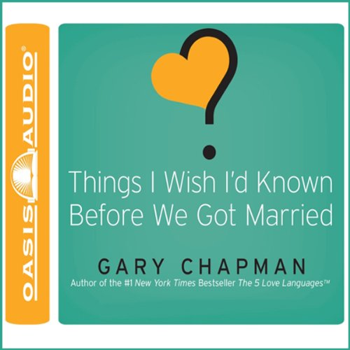 Page de couverture de Things I Wish I'd Known Before We Got Married
