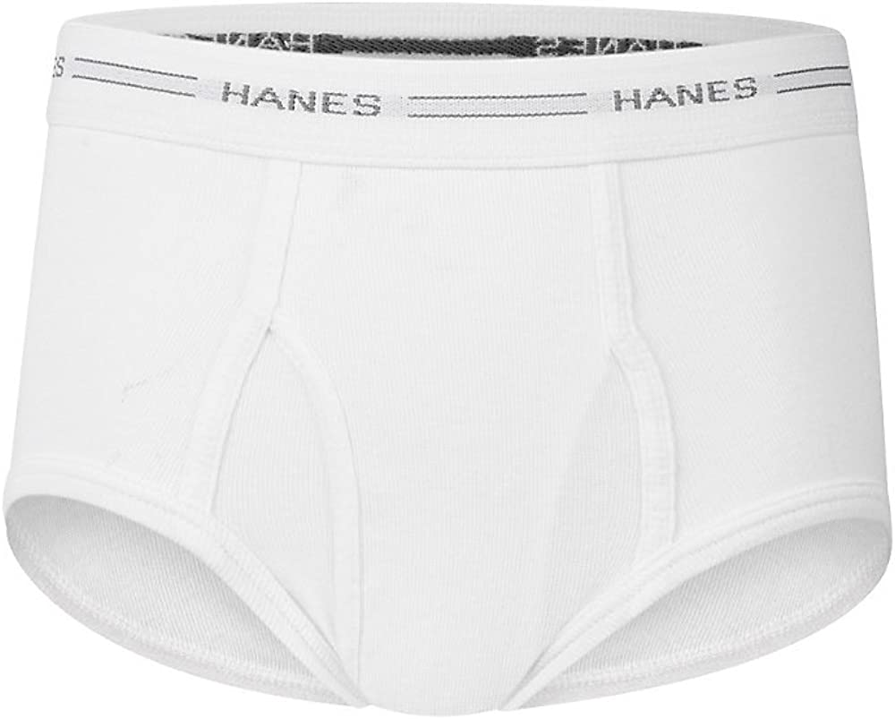 Hanes Ultimate Boys` White Brief with Comfort Flex Waistband