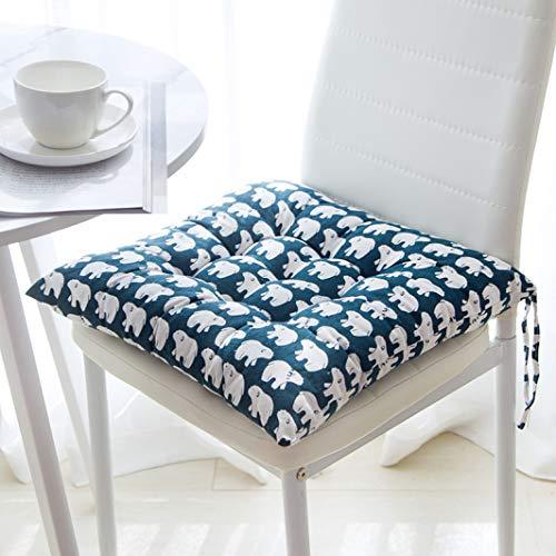 OLEEKA Cuscini per sedie addensati semplici Tappetini in Tatami Tatami Cuscino per seggiolino Auto Rotondo e Quadrato per Cuscini Decorativi per...