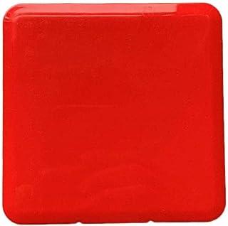 iEay Mini Boîtes de Rangement pour Masques, Boîtes de Rangement pour Masques, Face Masks Storage Boxes (Rouge)