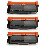 Hitze TN 2320 2310 Cartuchos de Toner Compatible para Brother MFC L2700DW L2700DN L2720DW L2740DW HL L2300D L2340DW L2360DN L2365DW DCP L2500D L2520DW L2540DN L2560DW Impresora 7800 Páginas 3 Negro