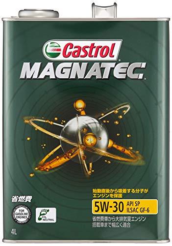 カストロール エンジンオイル MAGNATEC 5W-30 4L 4輪ガソリン車専用部分合成油 Castrol