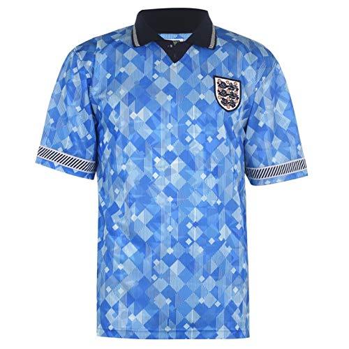 Score Draw Hombre England 90 Camiseta Deportiva Polo Fútbol Azul XS