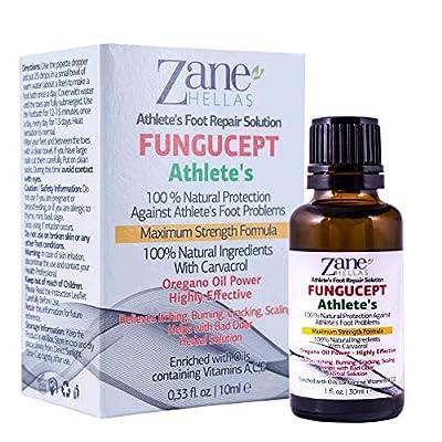 FunguCept Athlete?s Repair Solution.100%NATURAL.Alivia