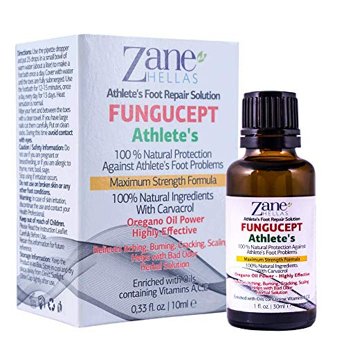 Zane Hellas FunguCept Athlete's Repair Solution....