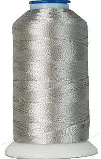 Rayon Embroidery Thread No. 428-1000M - Banner Grey
