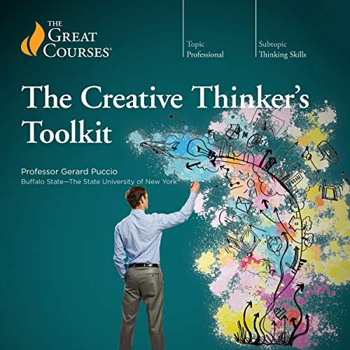 The Creative Thinker's Toolkit audiobook cover art