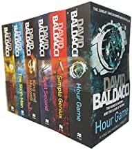 King and Maxwell Series Collection 6 Books Set By David Baldacci (Hour Game,Simple Genius,Split Second,King and Maxwell,Th...