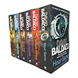 King and Maxwell Series Collection 6 Books Set By David Baldacci (Hour Game,Simple Genius,Split Second,King and Maxwell,The Sixth Man,First Family)