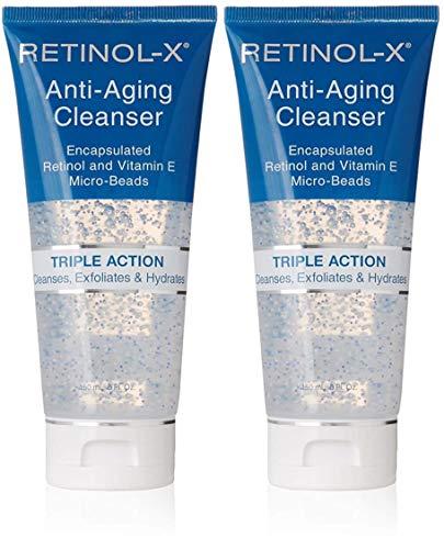 Skincare Retinol Anti-Aging Cleanse 5oz Tube Triple Action (2 Pack)