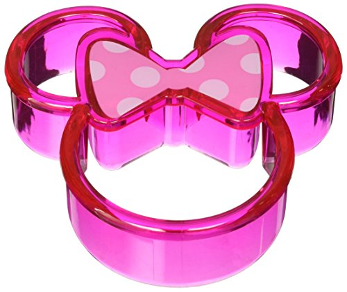 1 X Disney Minnie Mouse Sandwich Crust Cutter