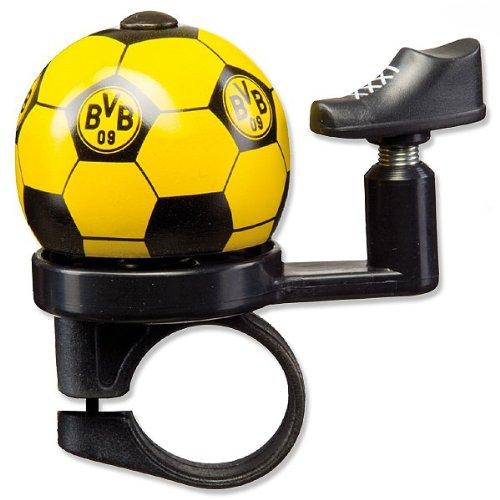 Borussia Dortmund BVB-Fahrradklingel, weiß, 2 x 2 x 6 cm