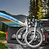 MGPRO 54' Waterproof Tailgate Pad with Tool Pocket Secure Frame Straps for Mountain Bikes Mechanic Tools/Tailgate Cover Surf