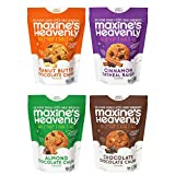 Maxine's Heavenly - Plant Based, Gluten Free, Low Sugar Cookies - Variety Four Pack—7.2 ounces...