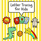 Letter Tracing for Kids: Practice Tracing Letters and Alphabet, Ages 3-5, Preschool, Yellow (ABC Learning for Toddlers, Pr...
