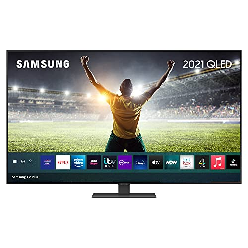 """QE55Q80A 55"""" QLED 4K HDR 1500 Smart TV"""