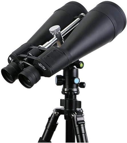 QFQ Jumelles Jumelles 20x80 Haute Puissance HD 20 Fois Le télescope de Grand diamètre 8,0 cm Peut être connecté au trépied (Taille   Telescope Floor Tripod)