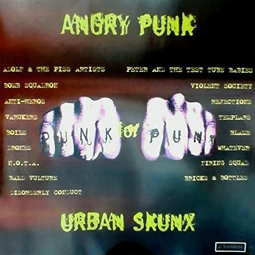 Angry Punk For Urban Skunx