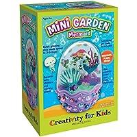 Creativity for Kids 6-Piece Mini Garden Mermaid Terrarium